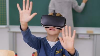ny teknologi virtual reality undervisning uddannelse skoler
