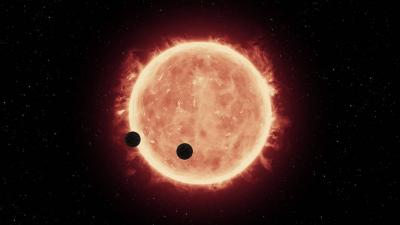 Hubble Trappist exoplaneter