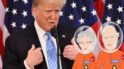 Trump tweet om Nasa stubberne