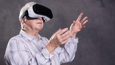 demens virtual reality vr ældre forskning
