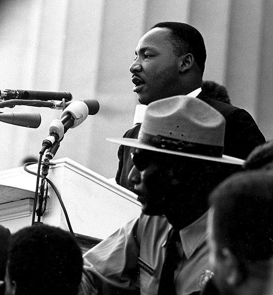 Martin Luther King tale I have a dream