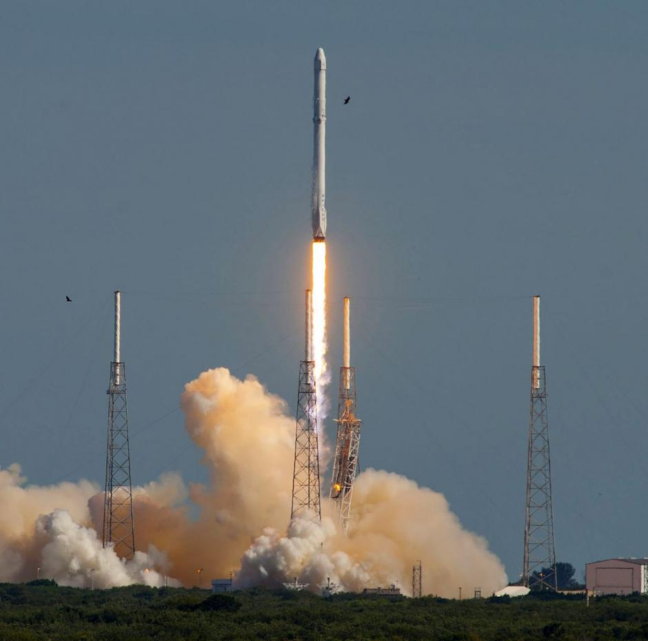 SpaceX Falcon 9 genbrug