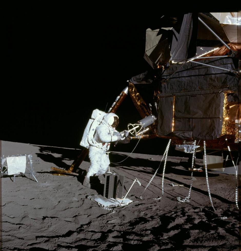 NASA Apollo 16 ALSEP