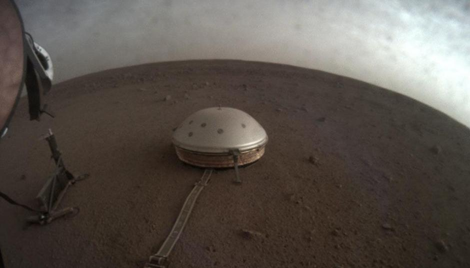 InSight seismometer på mars nasa