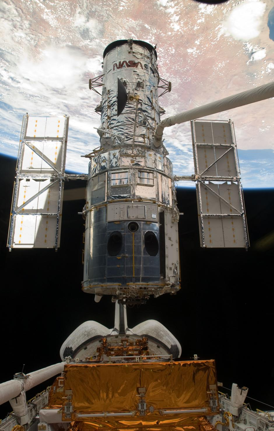 Hubble reparation jorden atlantis