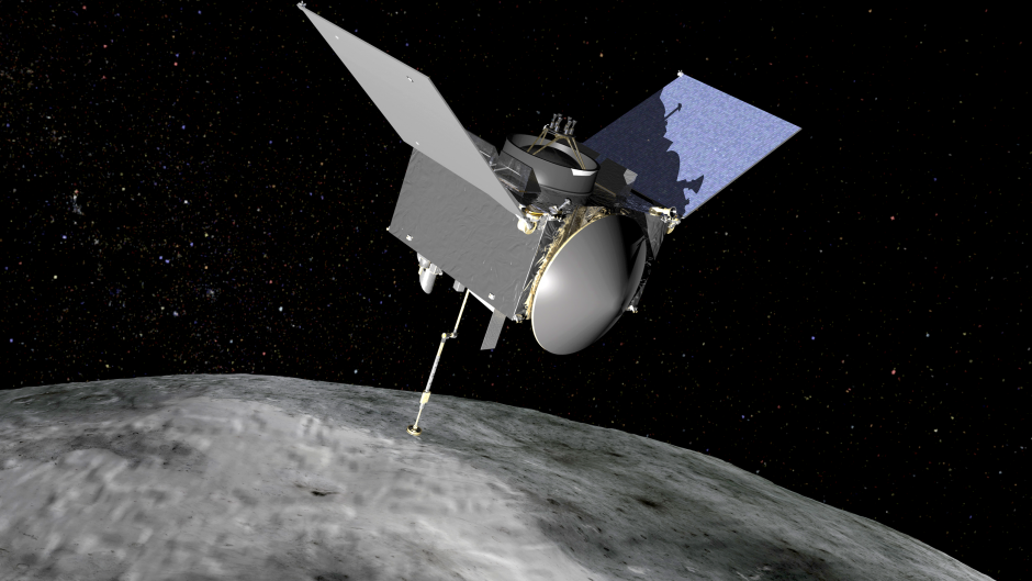 Osiris Rex Bennu asteroide NASA mission