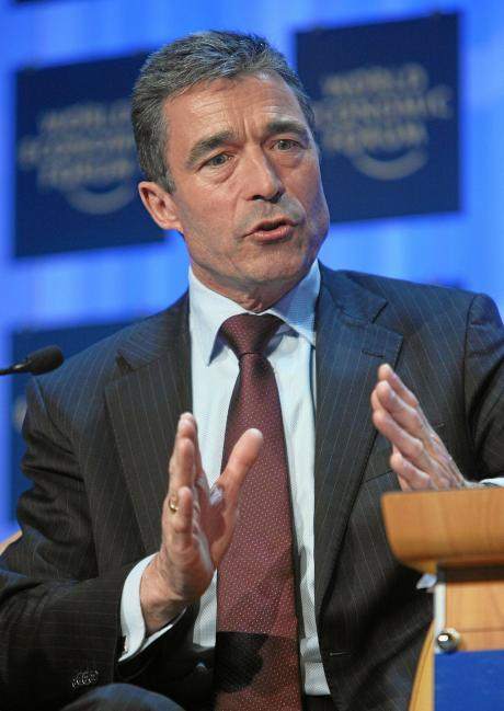 Anders Fogh Rasmussen, World Economic Forum, Davos, spin